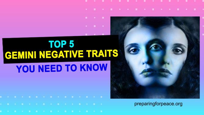 gemini negative traits
