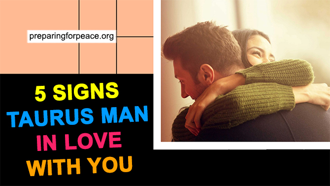 signs taurus male is into you