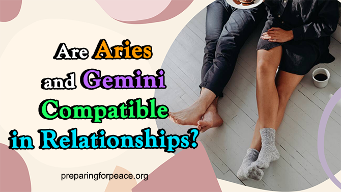the match of aries and gemini