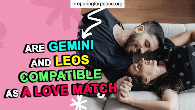the match of gemini and leo